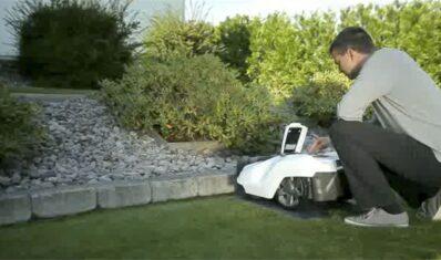 Como instalar robot cortacesped por Husqvarna