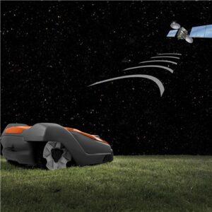 Navegacion GPS asistida de robot cortacésped Automower 520 de Husqvarna