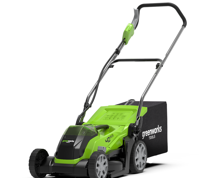 Cortacésped Greenworks G40LM35
